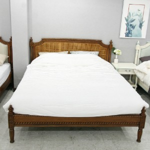 Louie Rattan Bed