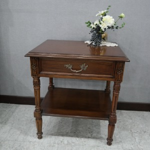 Louie Brown Bedside Table